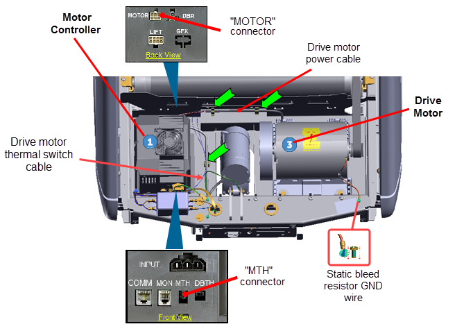 [DIAGRAM_5UK]  Drive Motor System Troubleshooting | Treadmill Motor Replacement Wiring Diagram |  | precor.mcoutput.com